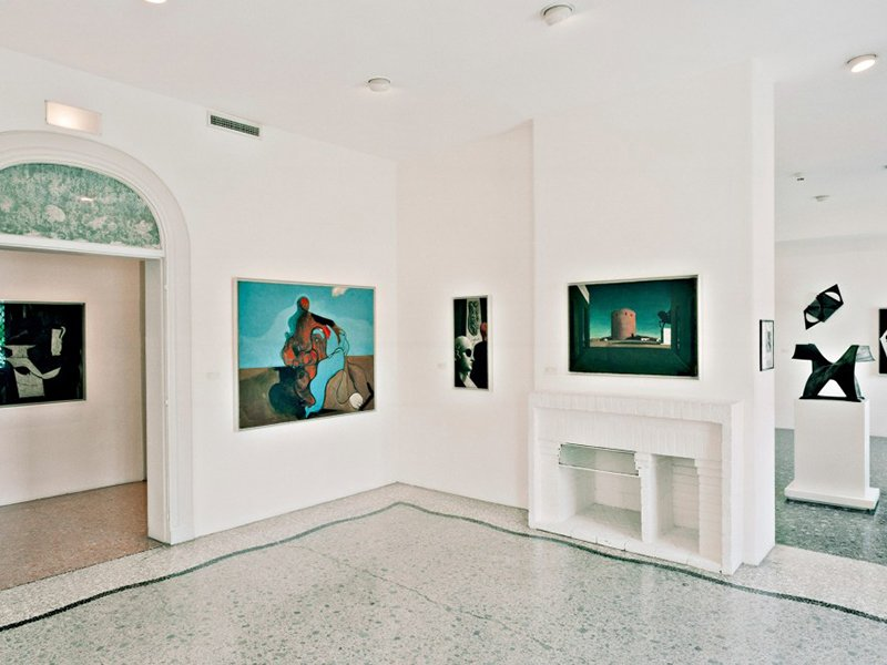 Interior of the Peggy Guggenheim Collection, Venice, Italy, 1990