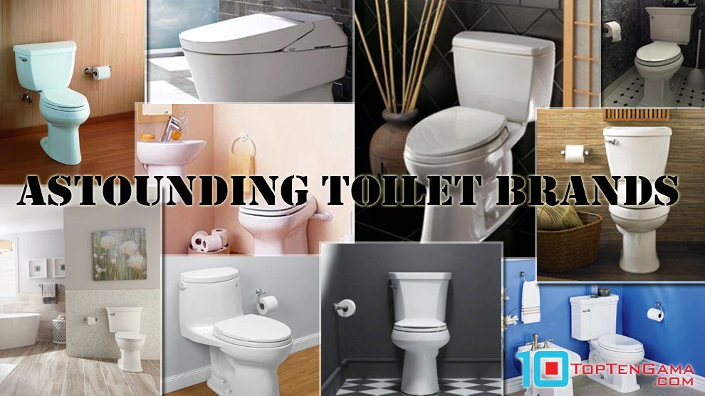 Astounding Toilet Brands