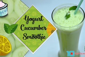 Yogut Cucumber Smoothie