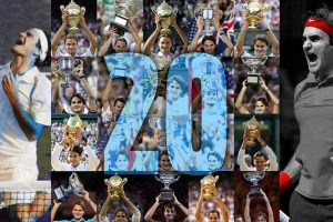 Roger Federer With 20 Grand Slams