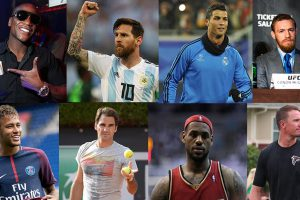 Highest Paid Male Athletes