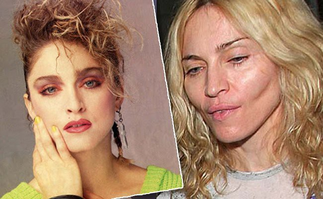 madonna - 10 Unrecognizable Celebrities