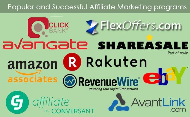 most-popular-and-successful-affiliate-marketing-programs