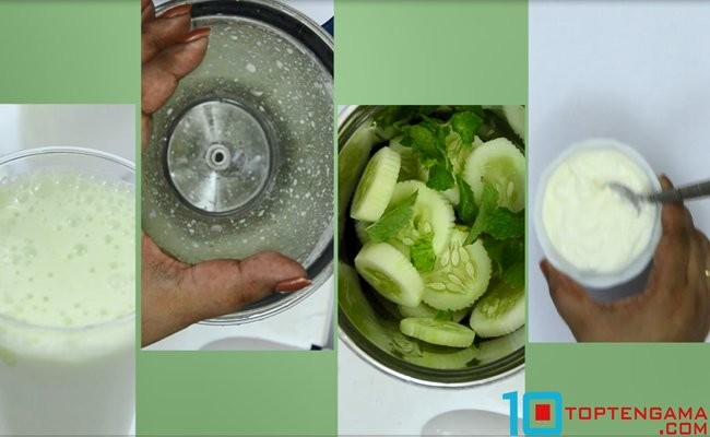 yogurt-cucumber-smoothie