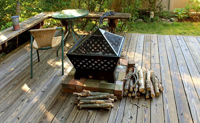 homemade-fire-pit -Fire Pits