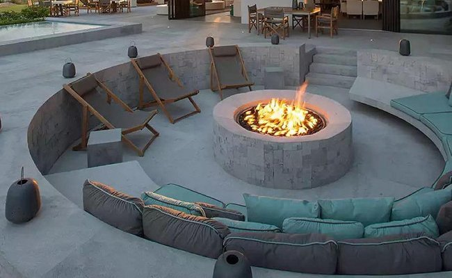 natural-gas-fire-pit - Fire Pits