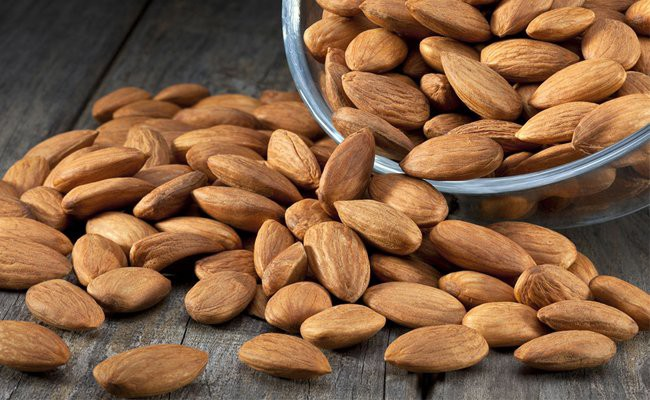 almonds-and-almond-milk - Foods That Stimulates The Nervous System And Brain