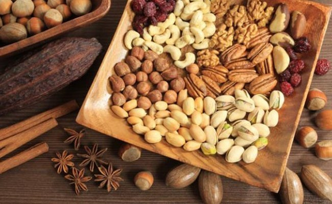 nuts - Foods That Stimulates The Nervous System And Brain