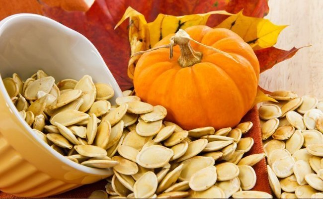 pumpkin-seeds - Foods That Stimulates The Nervous System And Brain