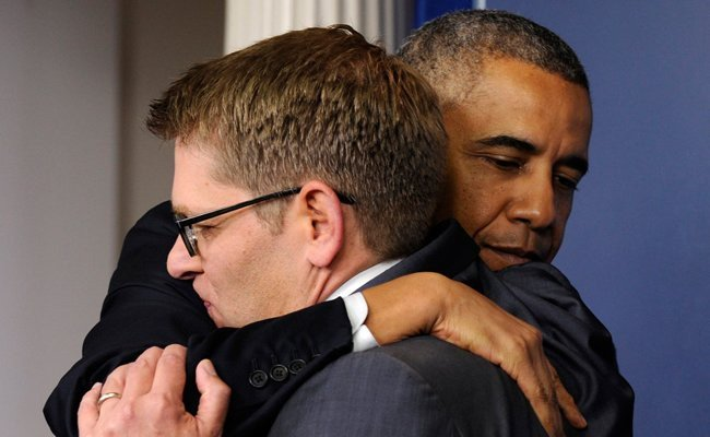 most-clumsy-hug-in-an-american-president-history - Heartfelt Hugs