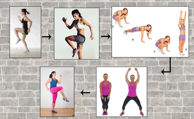 highly-energetic-fast-baced-workout - HIIT Cardio Workout