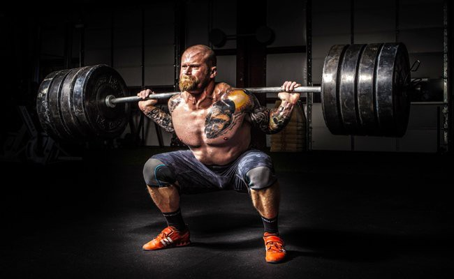 dead-lift-wide-row - HIIT Weight Training Routines