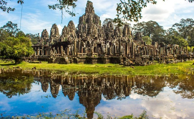 angkor-thom-cambodia - Lost Cities Of The World