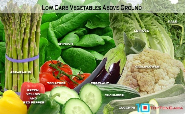 low-carbs-vegetables-above-ground
