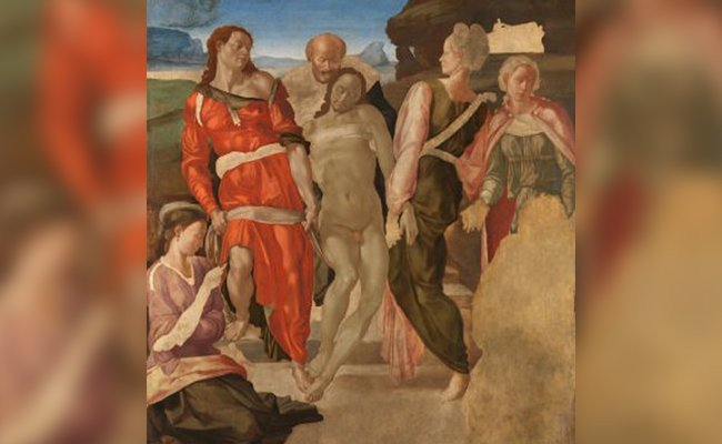 the-entombment - Most Celebrated Unfinished Paintings