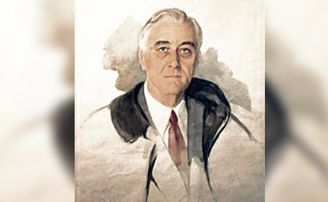 the-unfinished-portrait-franklin-d.-roosevelt - Most Celebrated Unfinished Paintings