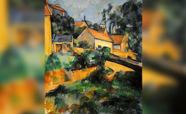 turning-road-at-montgeroult - Most Celebrated Unfinished Paintings