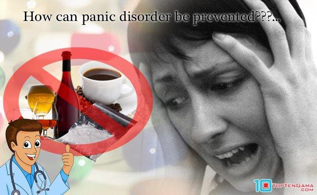 how can panic disorder be prevented