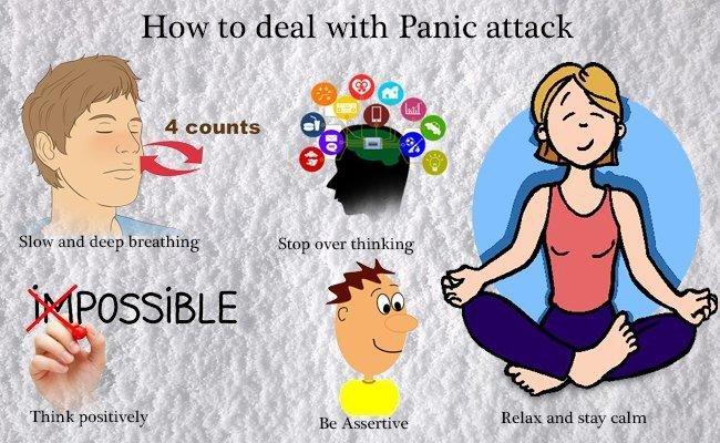 how to deal with panic attack