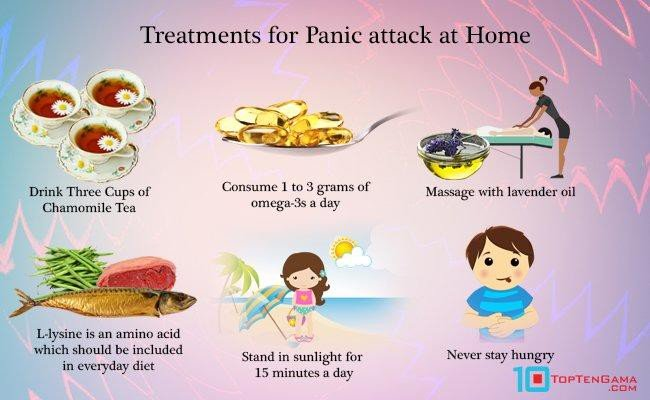treatment or panic attack at home