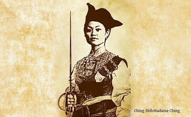ching-shihmadame-ching-deadliest-female-pirate-of-asia - Pirates