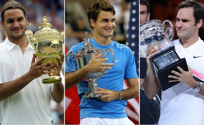 a-hat-trick-at-the-grand-slams - Roger Federer