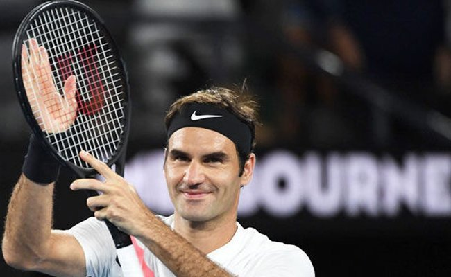 lost-only-one-set-in-the-entire-tournament - Roger Federer