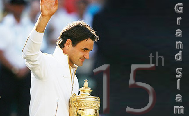 the-first-player-to-achieve-a-whopping-15-grand-slam-titles - Roger Federer