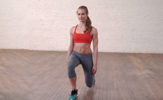 walking-lunges - Stretching Routines