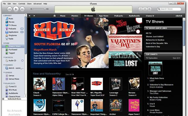 itunes live tv streaming