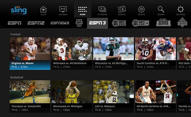sling live tv streaming
