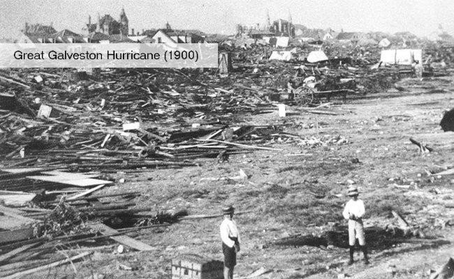 great galveston hurricane 1900 us history