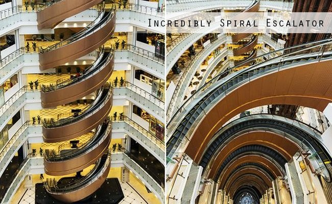 incredibly-spiral-escalator