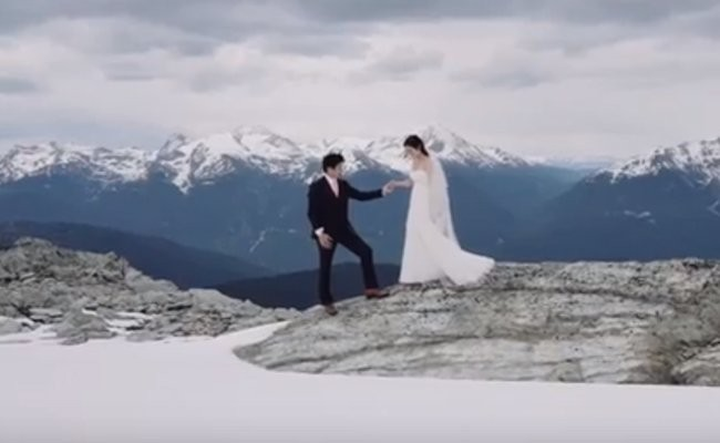 wedding-atop-a-glacier - Wedding Venues