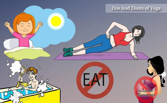 dos and donts of yoga